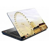 Mesleep Beige Wheel City Laptop Skin LS-05-44