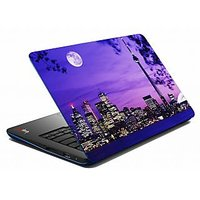 Mesleep Blue Night City Laptop Skin LS-05-51