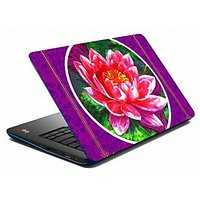 Mesleep Purple Rose Laptop Skin LS-05-23