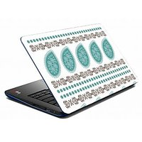 Mesleep Blue Abstract Laptop Skin LS-05-31