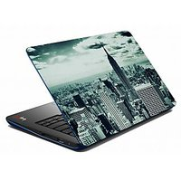 Mesleep Grey Old City Laptop Skin LS-05-41