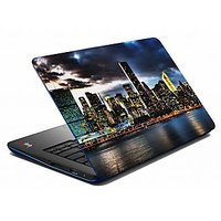 Mesleep Blue Cloudy Laptop Skin LS-05-42