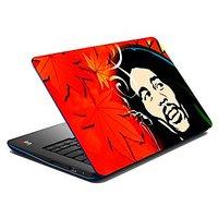 Mesleep Man With Afro Cut Laptop Skin LS-07-04