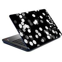 Mesleep  White Spots Laptop Skin LS-07-05