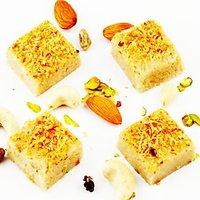 Ghasitarams Sweets Father's Day Sugarfree Kaju Butterscotch Squares 500 Gms