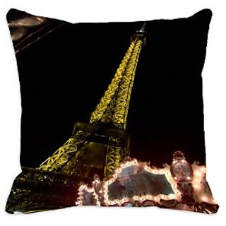 meSleep Eiffel Tower 3D Cushion Covers