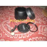 COMBO CANON EW60 + ET60 REPLCAMENT LENS HOOD + CAP + SAFTEY UV + CAP KEEPER 58MM
