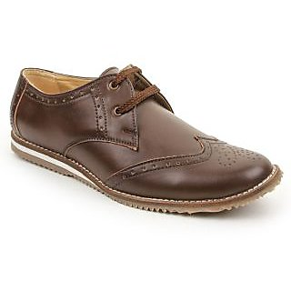 Mens Casual Shoes Bacca Bucci Mark Brown