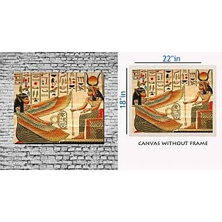 Canvas Painting Without Frame - Egypt