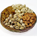 Kaju Badam Pista Kishmish Combo Dryfruit Box 200Gm
