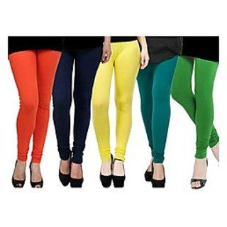 Pack of 5 Kjaggs Cotton Lycra Legging KTL-FV-10-11-12-13-4