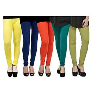 Pack of 5 Kjaggs Cotton Lycra Legging KTL-FV-11-12-13-14-16