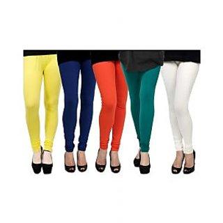 Pack of 5 Kjaggs Cotton Lycra Legging KTL-FV-11-12-13-14-3