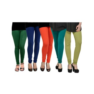 Pack of 5 Kjaggs Cotton Lycra Legging KTL-FV-12-13-14-15-16