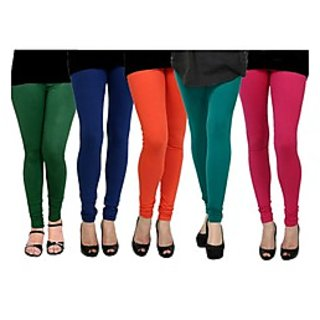 Pack of 5 Kjaggs Cotton Lycra Legging KTL-FV-12-13-14-15-8