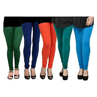 Pack of 5 Kjaggs Cotton Lycra Legging KTL-FV-12-13-14-15-9