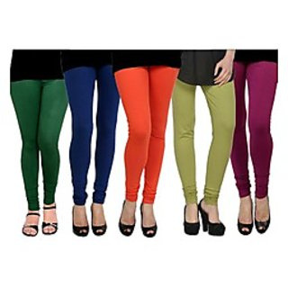 Pack of 5 Kjaggs Cotton Lycra Legging KTL-FV-13-14-15-16-19