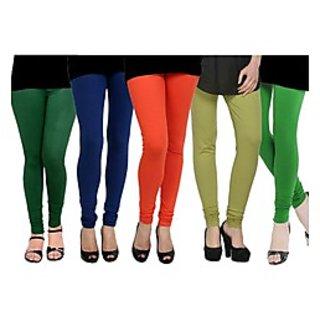 Pack of 5 Kjaggs Cotton Lycra Legging KTL-FV-13-14-15-16-4