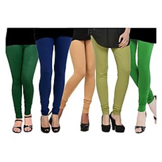 Pack of 5 Kjaggs Cotton Lycra Legging KTL-FV-14-15-16-17-4