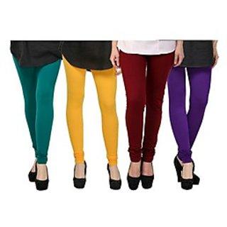 Kjaggs Multi-Color Cotton Lycra Full length legging (KTL-FR-5-6-7-12)