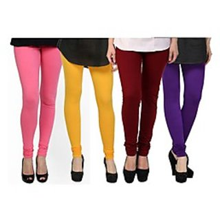 Kjaggs Multi-Color Cotton Lycra Full length legging (KTL-FR-5-6-7-18)