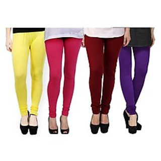 Kjaggs Multi-Color Cotton Lycra Full length legging (KTL-FR-6-7-8-11)