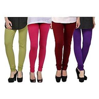 Kjaggs Multi-Color Cotton Lycra Full length legging (KTL-FR-6-7-8-16)