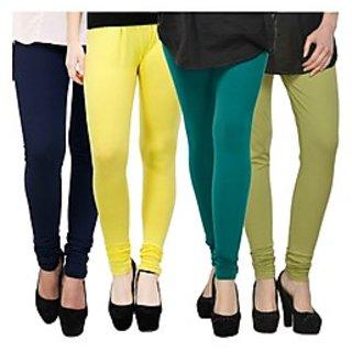 Kjaggs Multi-Color Cotton Lycra Full length legging (KTL-FR-10-11-12-16)