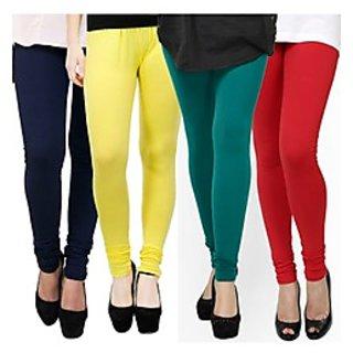Kjaggs Multi-Color Cotton Lycra Full length legging (KTL-FR-10-11-12-2)