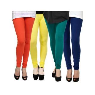 Kjaggs Multi-Color Cotton Lycra Full length legging (KTL-FR-11-12-13-14)
