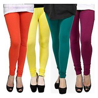 Kjaggs Multi-Color Cotton Lycra Full length legging (KTL-FR-11-12-13-19)