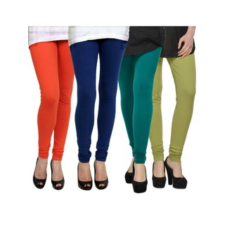 Kjaggs Multi-Color Cotton Lycra Full length legging (KTL-FR-12-13-14-16)