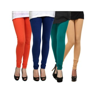 Kjaggs Multi-Color Cotton Lycra Full length legging (KTL-FR-12-13-14-17)