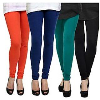 Kjaggs Multi-Color Cotton Lycra Full length legging (KTL-FR-12-13-14-1)