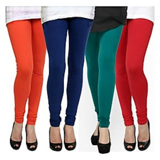 Kjaggs Multi-Color Cotton Lycra Full length legging (KTL-FR-12-13-14-2)