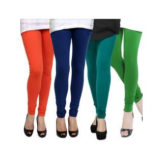 Kjaggs Multi-Color Cotton Lycra Full length legging (KTL-FR-12-13-14-4)