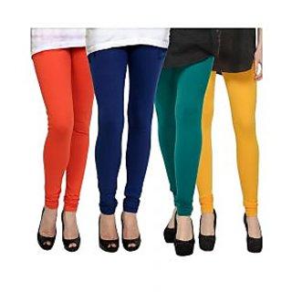 Kjaggs Multi-Color Cotton Lycra Full length legging (KTL-FR-12-13-14-5)