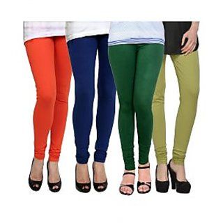 Kjaggs Multi-Color Cotton Lycra Full length legging (KTL-FR-13-14-15-16)