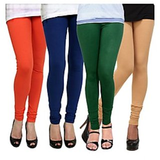 Kjaggs Multi-Color Cotton Lycra Full length legging (KTL-FR-13-14-15-17)