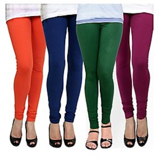 Kjaggs Multi-Color Cotton Lycra Full length legging (KTL-FR-13-14-15-19)