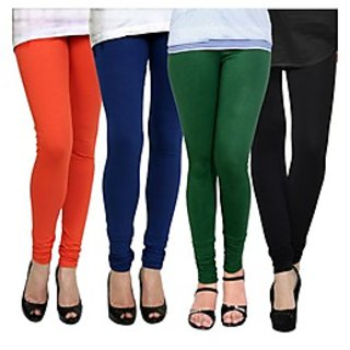 Kjaggs Multi-Color Cotton Lycra Full length legging (KTL-FR-13-14-15-1)