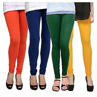 Kjaggs Multi-Color Cotton Lycra Full length legging (KTL-FR-13-14-15-5)