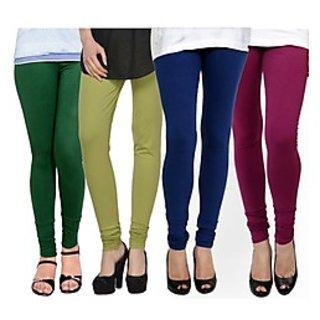 Kjaggs Multi-Color Cotton Lycra Full length legging (KTL-FR-14-15-16-19)