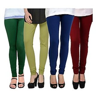 Kjaggs Multi-Color Cotton Lycra Full length legging (KTL-FR-14-15-16-6)