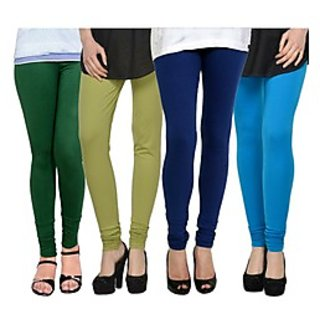 Kjaggs Multi-Color Cotton Lycra Full length legging (KTL-FR-14-15-16-9)