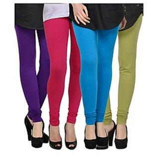 Kjaggs Multi-Color Cotton Lycra Full length legging (KTL-FR-7-8-9-16)