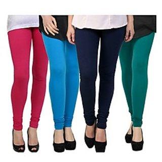 Kjaggs Multi-Color Cotton Lycra Full length legging (KTL-FR-8-9-10-12)