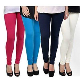 Kjaggs Multi-Color Cotton Lycra Full length legging (KTL-FR-8-9-10-3)
