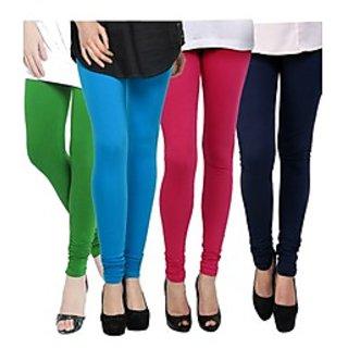 Kjaggs Multi-Color Cotton Lycra Full length legging (KTL-FR-8-9-10-4)