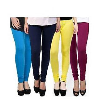 Kjaggs Multi-Color Cotton Lycra Full length legging (KTL-FR-9-10-11-19)